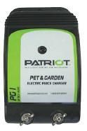 Patriot PG1 Pet and Garden Electric Fence Charger 1ACRE