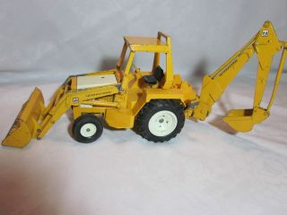 Vintage Ertl International Harvester Backhoe Farm Toy