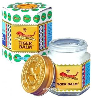 30g NEW TIGER BALM WHITE COOL WAX OINTMENT FAST PAIN RELIEF FREE SHIP