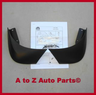 New Fiat 500 500C Rear Molded Splash Guard OEM Mopar