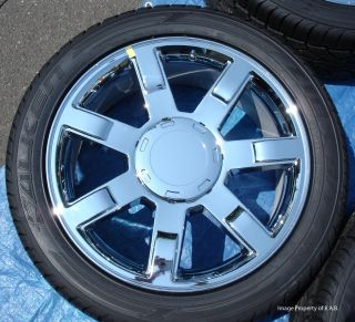 Cadillac Escalade 22 factory chrome wheels with tires *new*