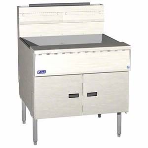 FD M Filter 150lb Megafry Solid State Deep Fryer w Filter