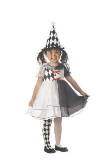 Lil Harlequin Circus Clown Toddler Costume