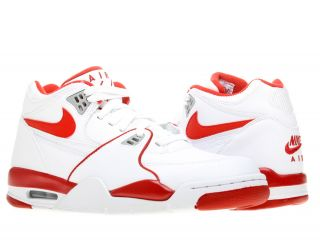 Nike Air Flight 89 White/Varsity Red Mens Basketball Shoes 306252 105