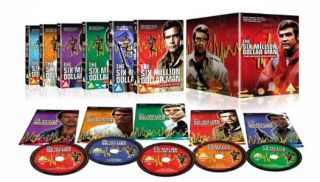 The Six Million Dollar Man   Complete Collection NEW PAL Series 40 DVD