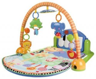 New Fisher Price Kick Play Piano Gym Baby Infant Educational Free