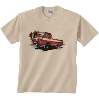 Ford T Shirt Econoline Pick Up Truck Classic Ford Gasser