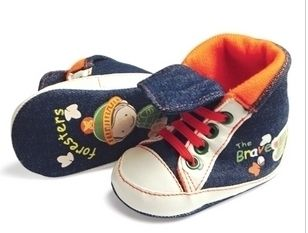 New Guess Soft Sole Baby Boys Forrester Crib Shoes Age 0 18 Months