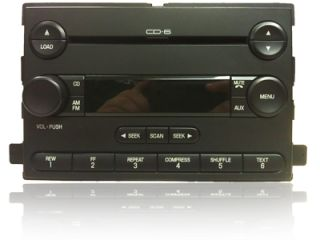 2004 2005 Ford Freestar Mercury Monterey Radio Aux 6 Disc CD Changer