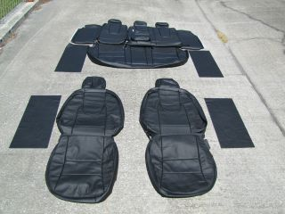 Ford Fusion SE SEL Leather Seat Covers Seats Interior 2010 Black