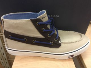 Tommy Hilfiger Findley Mens Fashion High Hi Top Sneakers Casual Shoes