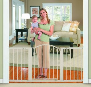 Summer Infant Sure Secure 6 Foot Metal Child Safety Pet Gate Fits 44