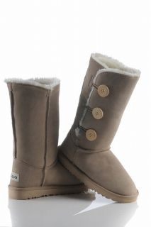 Style Women Beige Winter Snow Boots Shoes Eur Size #35~#40 S7304