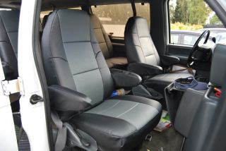 Ford E 150 Club Wagon 2008 2012 s Leather Seat Cover