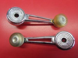 73 79 Ford truck Bronco inside window crank handles F100 F350 Ranger