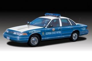 Ford Crown Victoria Georgia State Police Model 72781