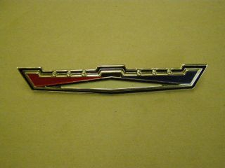 1965 1966 Ford Galaxie Custom 500 Roof Side Emblem Ornament