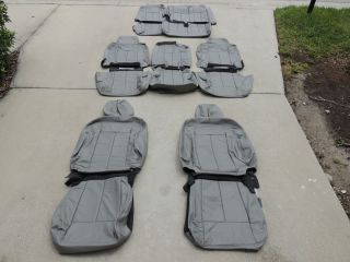 Ford Expedition XLT Leather Seat Covers Interior Seats 2009 2010 2011