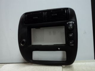 00 Ford Explorer Radio Heater Climate Control Dash Bezel