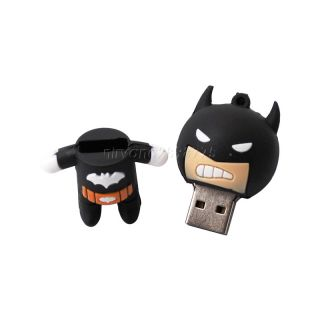 New 16G 16GB Cartoon Batman USB Memory Stick Flash Pen Drive