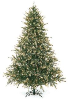 this pre lit flocked mixed pine artificial evergreen christmas tree