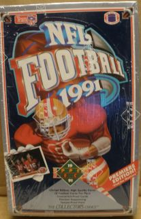 1991 Upper Deck NFL Football Trading Cards High Series • Brand New
