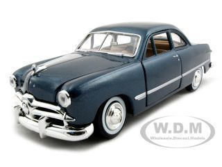 1949 Ford Coupe Blue 1 24 Diecast Model Car by Motormax 73213