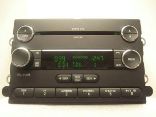 Ford Fusion Milan  Aux Radio 6 Disc CD Changer 8E5T 18C815 DB 2007