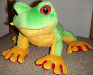 Webkinz Tree Frog Ganz Plush Stuffed Animal Toy 065810351421