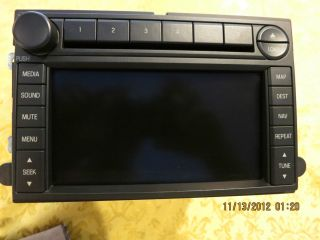 Ford OEM Navigation 6 Disc Changer Radio 2008 SuperDuty F250 F350