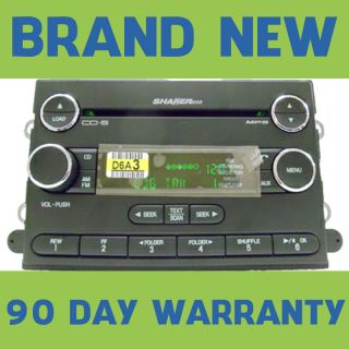 Ford Mustang Sirius Satellite Radio 6 Disc  CD Changer Player