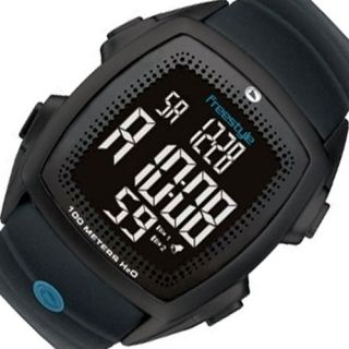 FREESTYLE Gilgo Chronograph New Mens Digital Watch Black Rubber Band