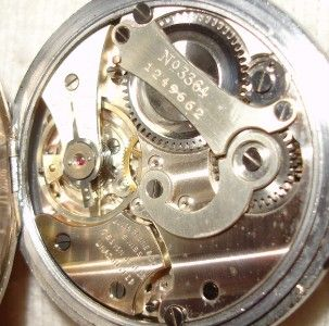 RACINE & CO. SWISS GALLET STOP WATCH TIMER POCKET WATCH HOUR DECIMAL
