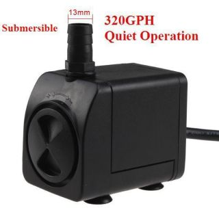 Submersible Indoor Outdoor Water Fountain Pump Quiet Operation