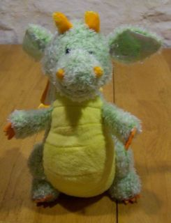 Ganz Webkinz Soft Citrus Dragon 9 Plush Stuffed Animal