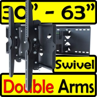 Full Motion ARTICULATING Swivel ARM TILT LCD LED TV WALL MOUNT BRACKET