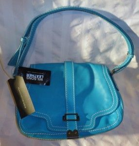 Francesco Biasia Aqua Leather Handbag Wilsons Leather