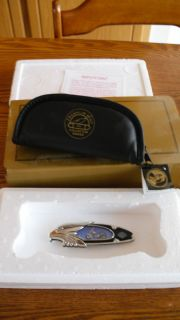 FRANKLIN MINT HARLEY DAVIDSON COLLECTOR KNIFE HERITAGE SOFTAIL
