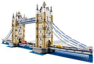 you are looking at lego exclusive tower bridge 10214 condition brand