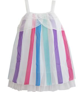 Girls Top Colorful Dress Children Clothing Sz 5 6