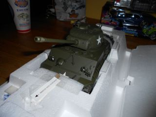 Franklin Mint 1 24 M4 A3 Sherman Tank George Patton Military RARE
