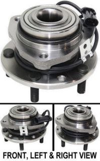 Chevy S10 GMC S15 Pickup Truck w ABS 4WD 4x4 Front Wheel Hub Bearing