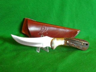 German Bull Knife Hunter Deer Stag Handle Made in Germany