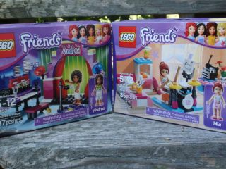 Building Set Mia Bedroom and Andrea Stage Friends LEGOS FOR GIRLS