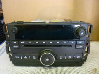 10 12 Chevrolet Silverado GMC Sierra Radio 6 Disc CD Player 20935459