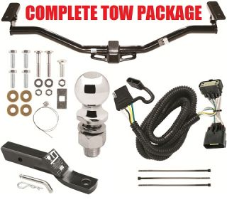 FORD EXPLORER TRAILER HITCH + WIRING KIT + BALLMOUNT + BAR ~ NO DRILL