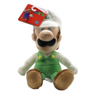 Global Holdings Super Mario Plush 9 Fire Luigi