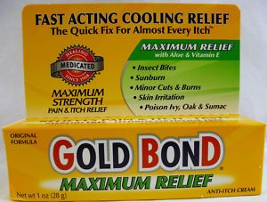 Gold Bond Maximum Relief Anti Itch Cream 1oz