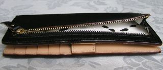 New Kate Spade Grant Street Stacy Leather Wallet Black