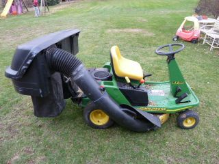 Turn Riding Tractror Lawn Mower Leaf Grass Bagger SX 85 SX85